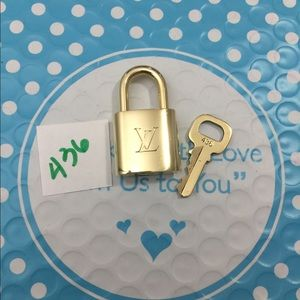 Louis Vuitton lock and key 436